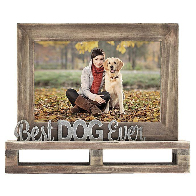 Best Dog Ever Decorative Wood And Metal Frame Bed Bath Beyond