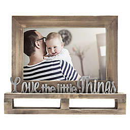 """""""Love The Little Things"""" Decorative Wood and Metal Frame"""