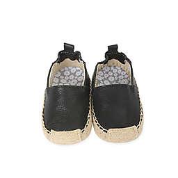Robeez® First Kicks Ellie Espadrille Shoe in Black