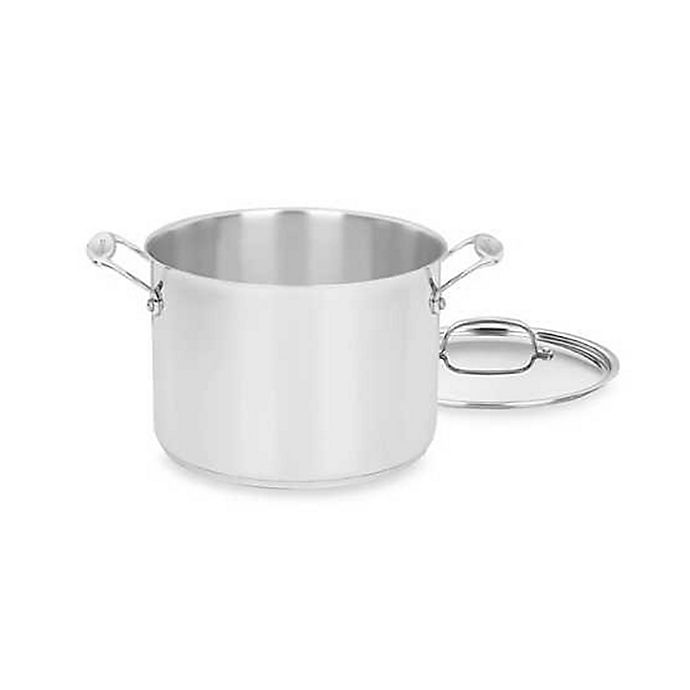 Alternate image 1 for Cuisinart® Chef's Classic™ Stainless Steel Stock Pot with Cover