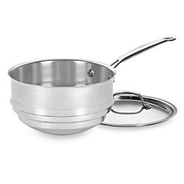 Cuisinart® Chef's Classic™ Stainless Steel Double Boiler with Lid