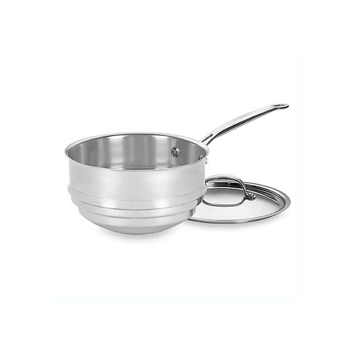 Alternate image 1 for Cuisinart® Chef's Classic™ Stainless Steel Double Boiler with Lid