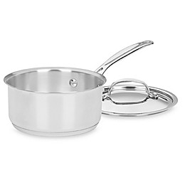 Cuisinart® Chef's Classic™ Stainless Steel 2-Quart Saucepan with Lid
