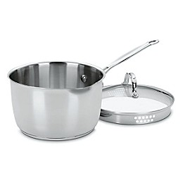 Cuisinart® Chef's Classic™ Stainless Steel 3-Quart Cook and Pour Saucepan with Lid