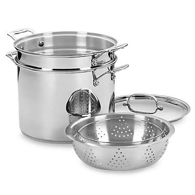 Cuisinart® Chef's Classic™ Stainless Steel 4-Piece 12-Quart Pasta and Steamer Set