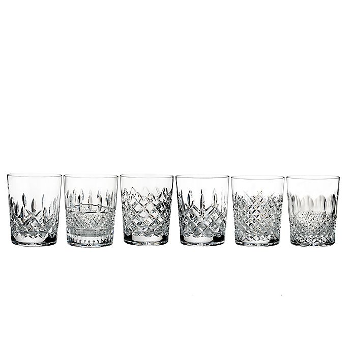 Waterford Lismore Connoisseur Heritage Double Old Fashioned Glasses Set Of 6 Bed Bath Beyond