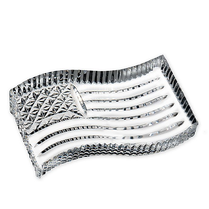Alternate image 1 for Waterford® American Flag Paperweight