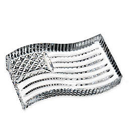 Waterford® American Flag Paperweight