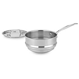 Cuisinart® MultiClad Pro Triple-Ply Stainless Double Boiler with Lid