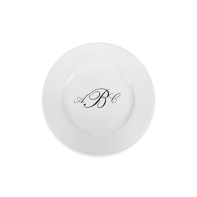 Alternate image 1 for 93 West Maison Rimmed Bread Plate in White/Black