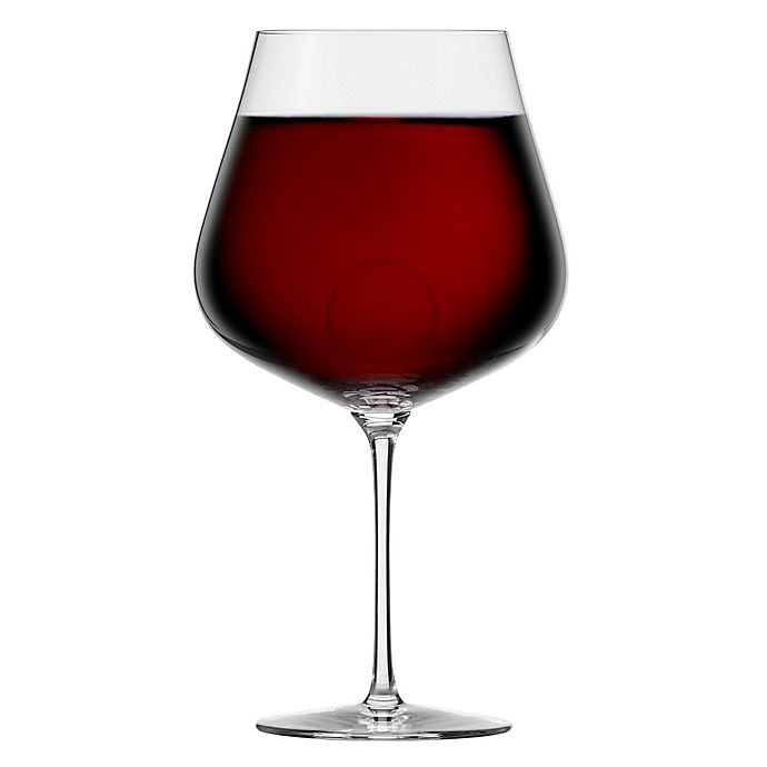Alternate image 1 for Zwiesel 1872 Air Sense Burgundy Wine Glasses (Set of 2)