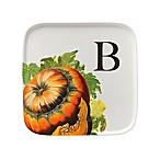 93 West Autumn Squash 9.5-Inch Square Platter