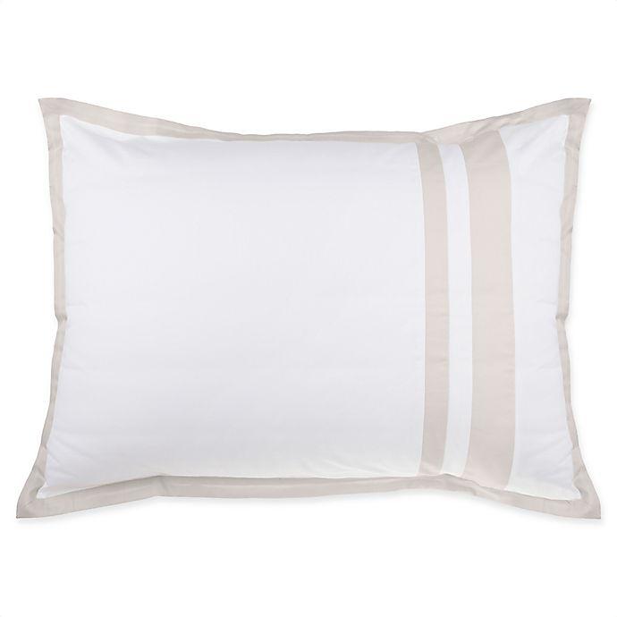Alternate image 1 for Wamsutta® Hotel Border MICRO COTTON® Pillow Sham