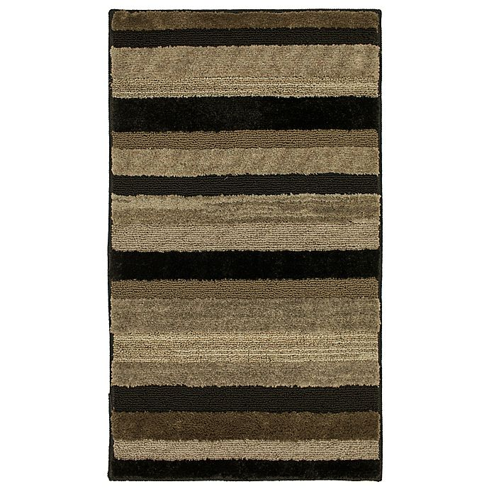 Alternate image 1 for Mohawk Home® Farmhouse Mirage Washable Accent Rug in Black Walnut