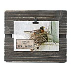 Fetco Home Décor™ Farmhouse Pallet Clip Frame in Rustic Black