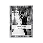 Swing Design™ Glitter Stripe 4-Inch x 6-Inch Frame With Sparkling Mirror Border in Silver