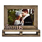 This is Us  Decorative Wood and Metal Frame