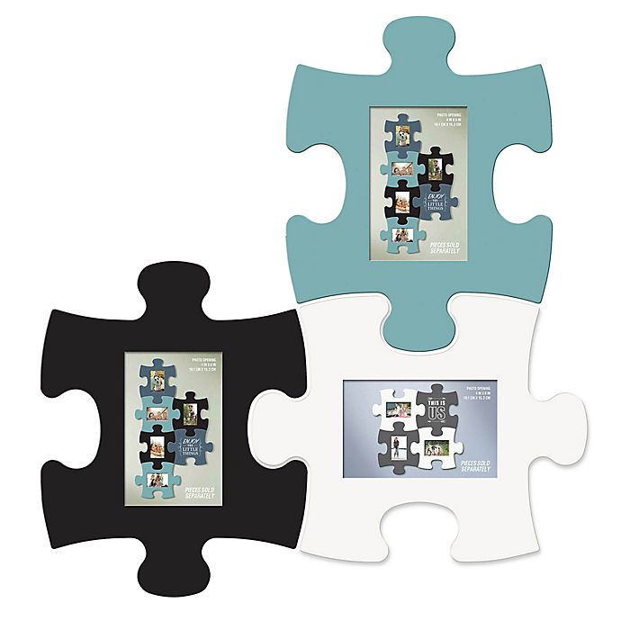 WallVerbs™ Mix & Match Puzzle Frame and Wall Art Pieces | Bed Bath ...