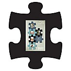 WallVerbs™ Mix & Match Puzzle Frame Pieces Gallery in Black
