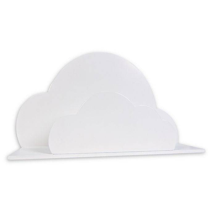 Alternate image 1 for Trend Lab® Cloud Wall Shelf in White