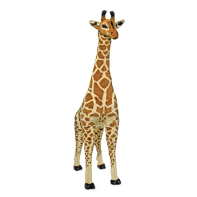 Alternate image 1 for Melissa & Doug® Jumbo Plush Giraffe