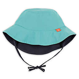 Lassig™ Reversible Sun Protection Bucket Hat in Teal/Navy