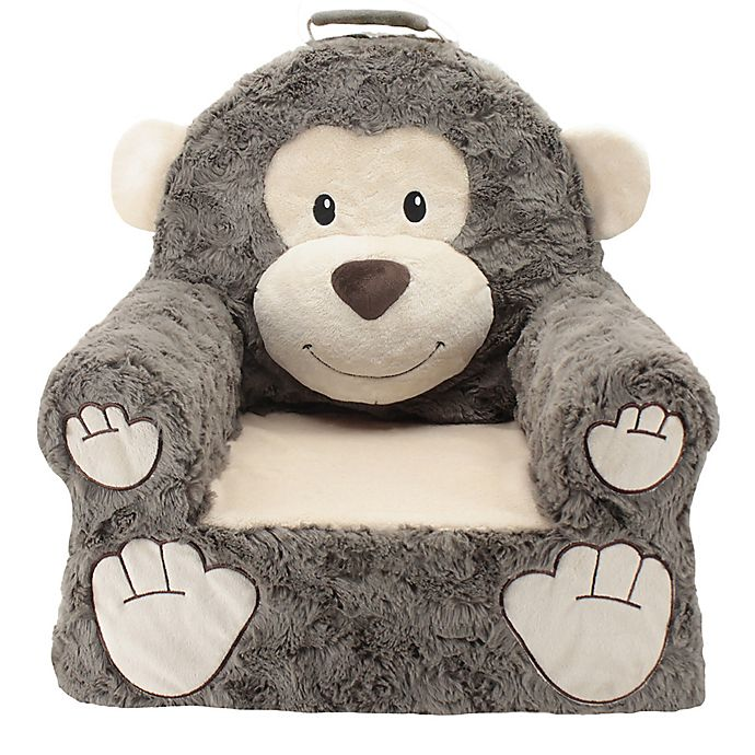 Alternate image 1 for Soft Landing™ Premium Sweet Seats™ Monkey Character Chair