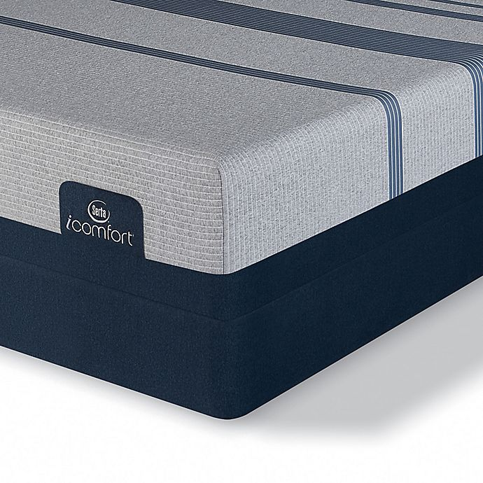 Alternate image 1 for Serta® iComfort® Blue Max 1000 Cushion Firm Low Profile Queen Mattress Set