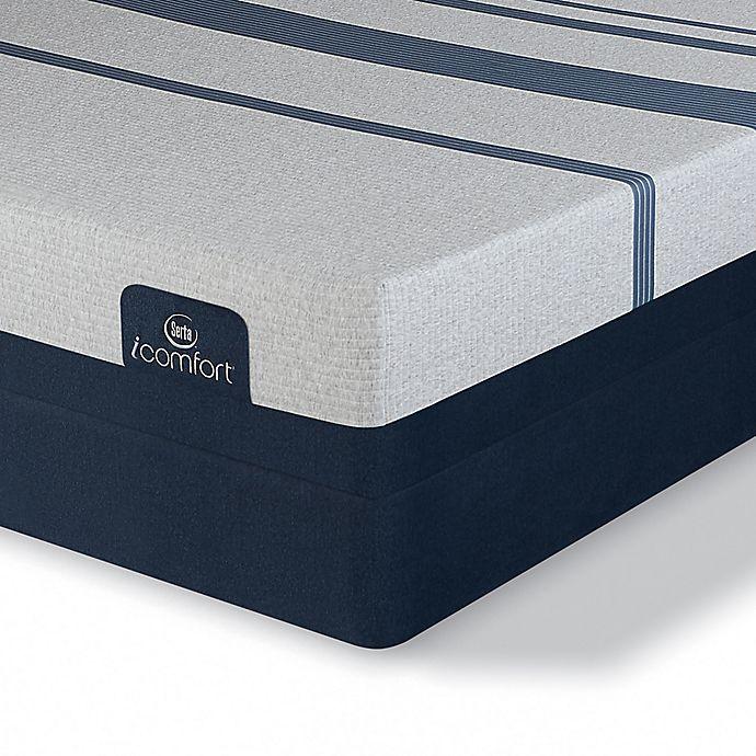 Alternate image 1 for Serta® iComfort® Blue 300 Firm Low Profile King Mattress Set