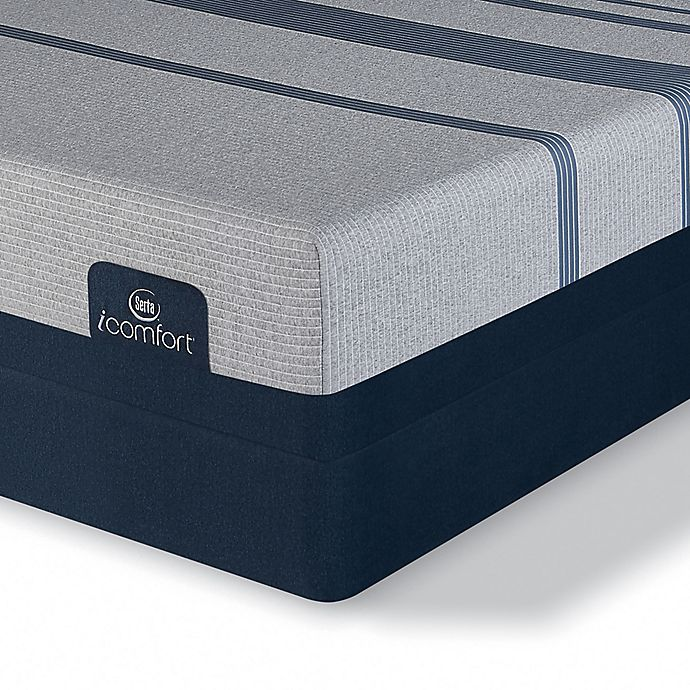 Alternate image 1 for Serta® iComfort® Blue Max 1000 Plush Low Profile Mattress Set