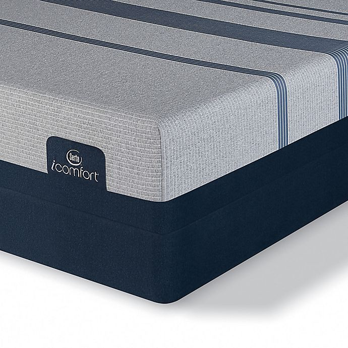 Alternate image 1 for Serta® iComfort® Blue 3000 Elite Plush Low Profile Split Queen Mattress Set
