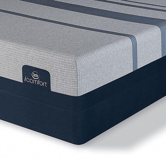 Alternate image 1 for Serta® iComfort® Blue 3000 Elite Plush Low Profile Twin XL Mattress Set