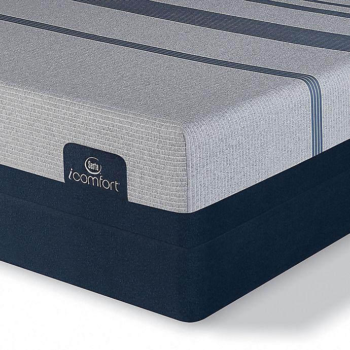 Alternate image 1 for Serta® iComfort® Blue Max 3000 Elite Plush Split Queen Mattress Set