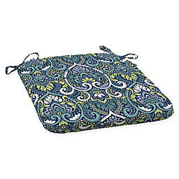Arden Selections  Aurora Outdoor Seat Pad in Blue