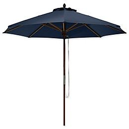 Classic Accessories®  9-Foot Round Bamboo Umbrella