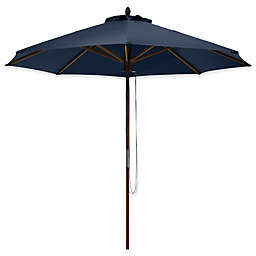Classic Accessories®  9-Foot Round Bamboo Umbrella