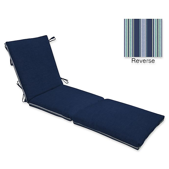 Alternate image 1 for Arden Selections Leala Outdoor Chaise Cushion