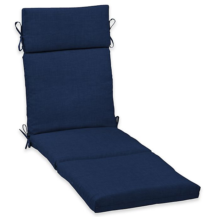 Alternate image 1 for Arden Selections  Leala Cartridge Chaise Cushion in Blue
