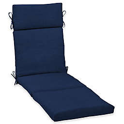 Arden Selections  Leala Cartridge Chaise Cushion in Blue