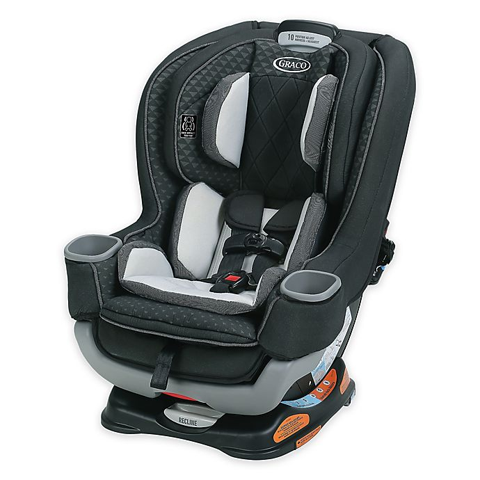 Alternate image 1 for Graco® Extend2Fit™ Platinum Convertible Car Seat in Mave™