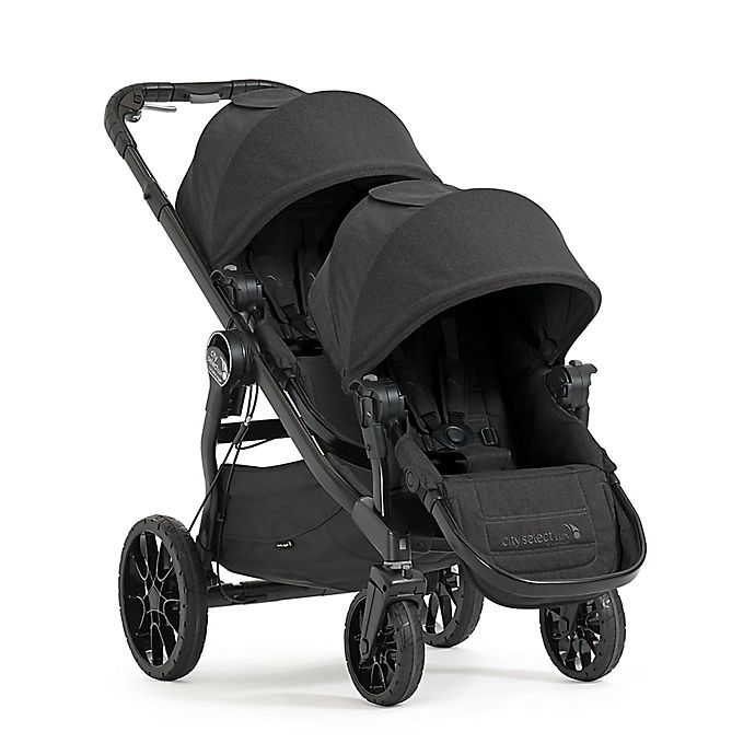 Alternate image 1 for Baby Jogger® City Select® LUX Convertible Stroller with Second Seat in Granite