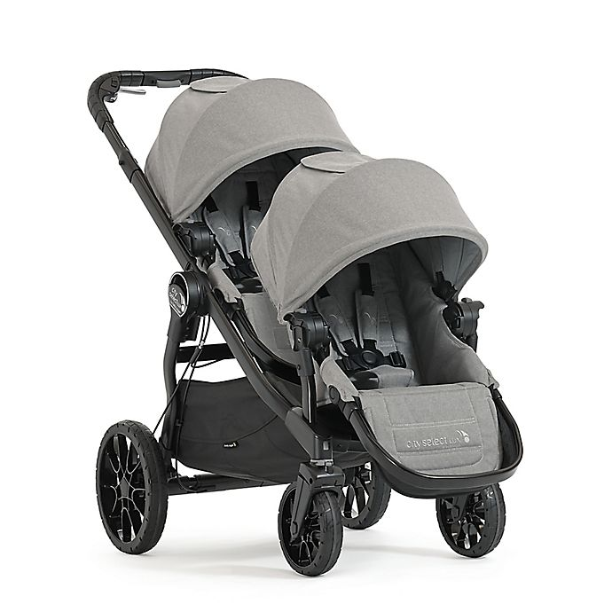 Alternate image 1 for Baby Jogger® City Select® LUX Convertible Stroller with Second Seat in Slate