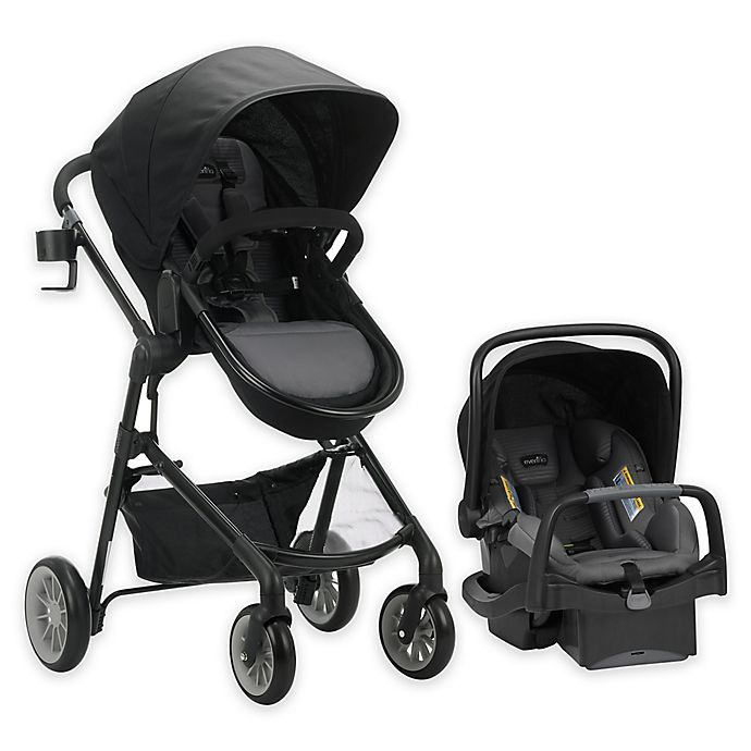 Alternate image 1 for Evenflo® Pivot Modular Travel System with SafeMax™ SensorSafe Infant Car Seat