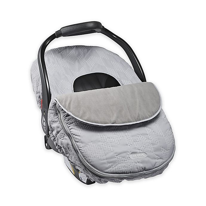 Alternate image 1 for JJ Cole® Car Seat Cover in Grey Herringbone