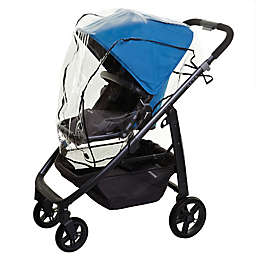 Dreambaby® Stroller Weather Shield in Black Trim Clear/black