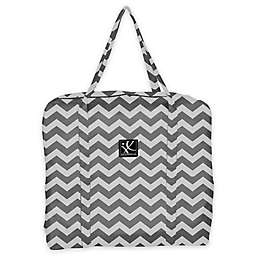 J.L. Childress Booster Go-Go Travel Bag for Backless Seats in Chevron