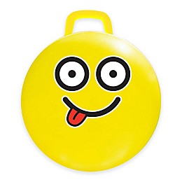 MegaFun USA #Silly Emoji Hop Hop Jumping Ball in Yellow