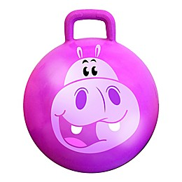 MegaFun USA Squishy the Hippo Jungle Hop Hop Bouncer