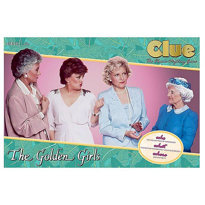Alternate image 1 for Clue®  The Golden Girls  Board Game