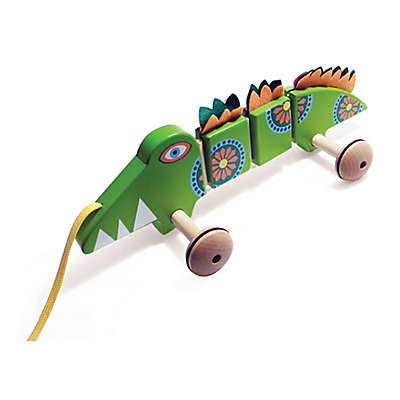 House of Marbles TittlyTots Large Wooden Pull-Along Crocodile